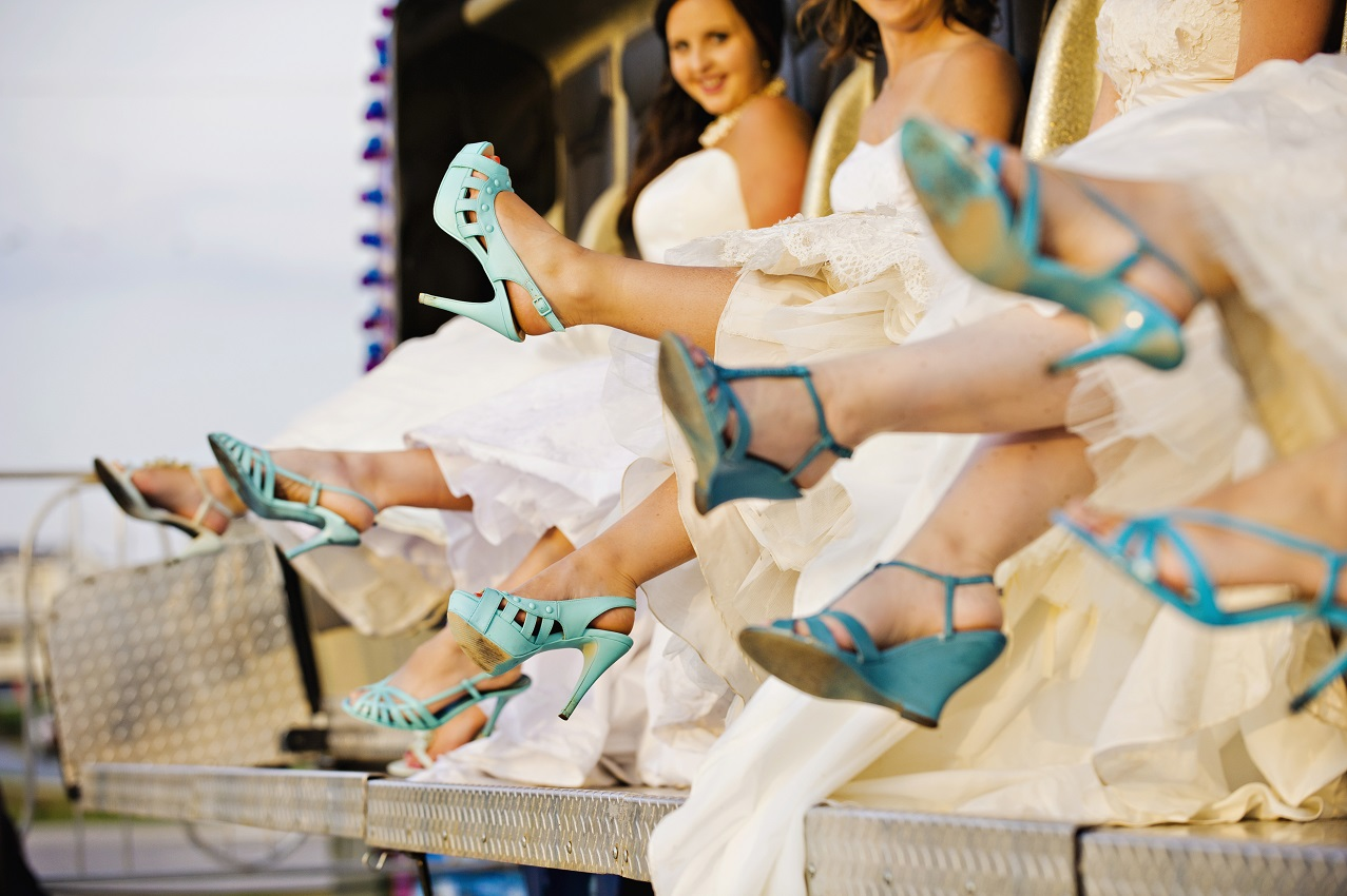 carnival teal shoes