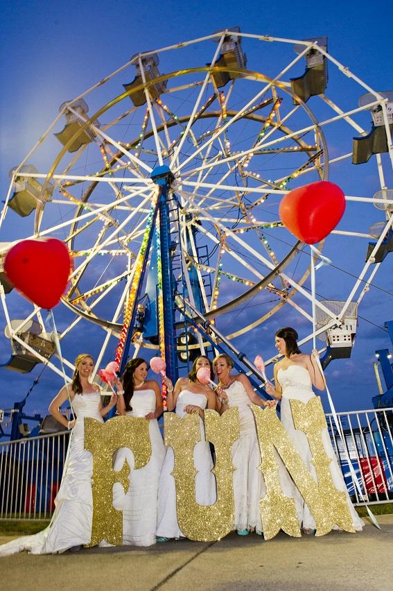 ferris wheel brides