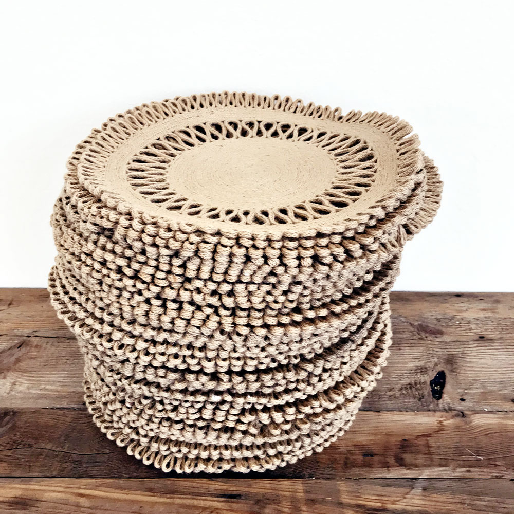 renee landry events wicker rattan woven dining table plate chargers for wedding rentals.jpg