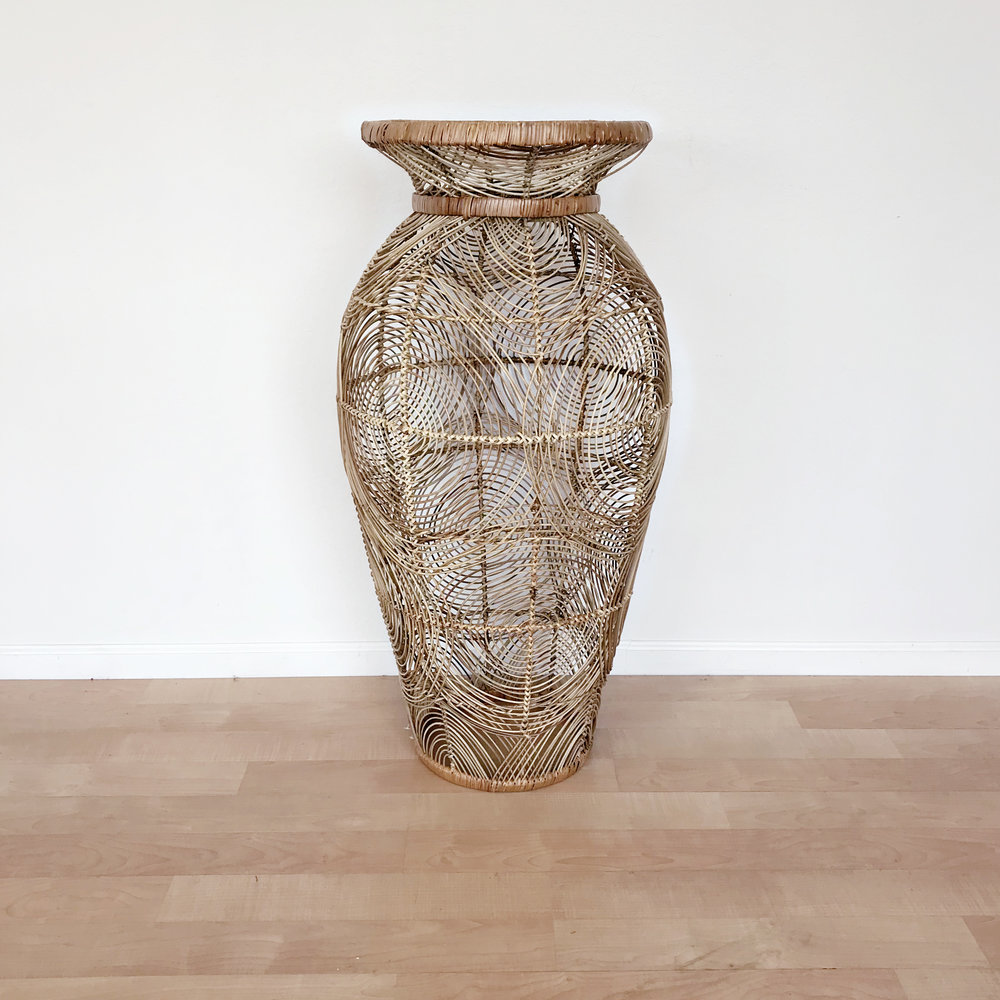 renee landry events wicker rattan woven basket vase oversized stand for wedding rentals.jpg