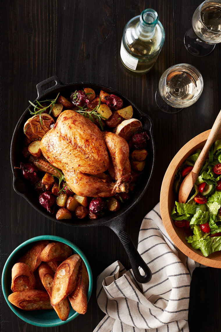 Convection Oven Roasted Chicken