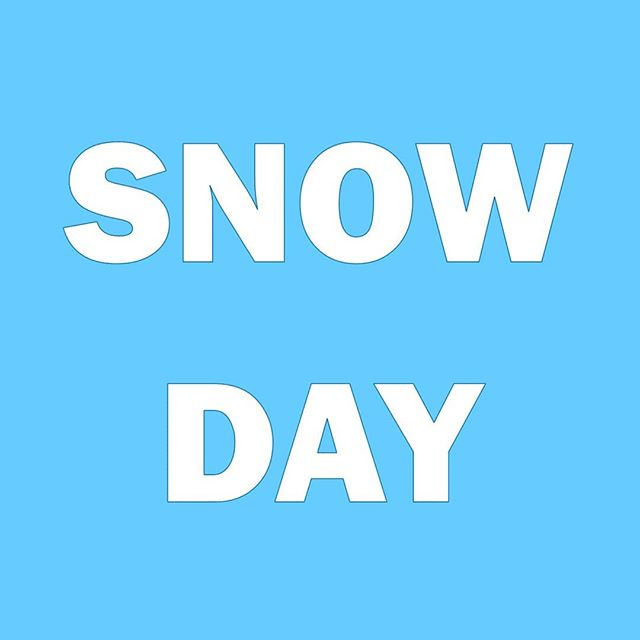 We will be closed today due to the snow. Be safe out there!!