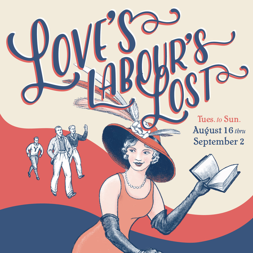 Love's Labour's Lost, Shakespeare in the Park 2018