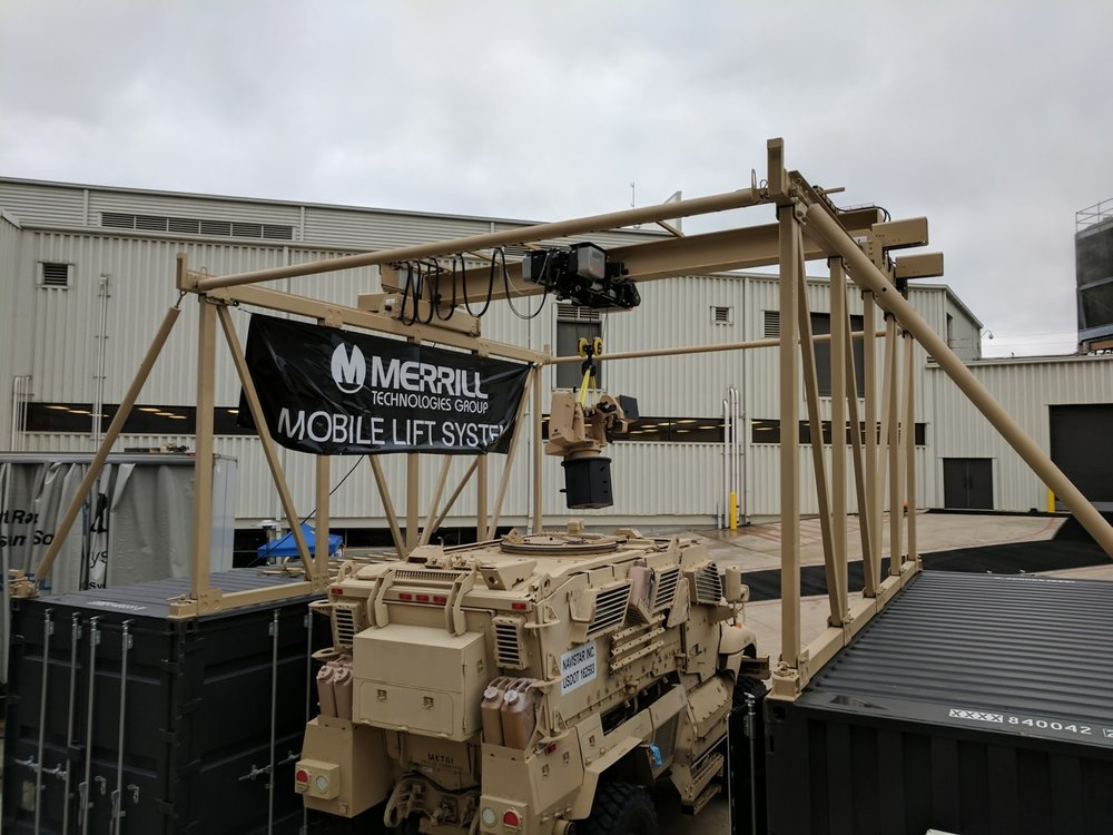 MLS with Remote weapon system MAxxpro