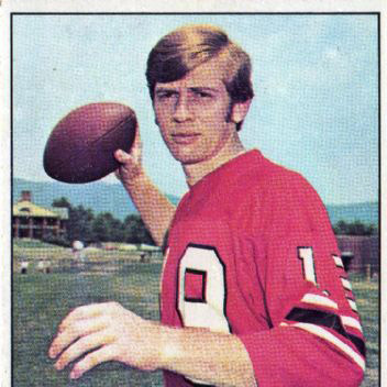 Bob Lee   A 13 year veteran of the NFL, with a 69% winning record as a starting quarterback for the Vikings, Falcons, and Rams. Falcons, and winner of the Falcons' equivalent of the 49ers Len Eshmont Award.