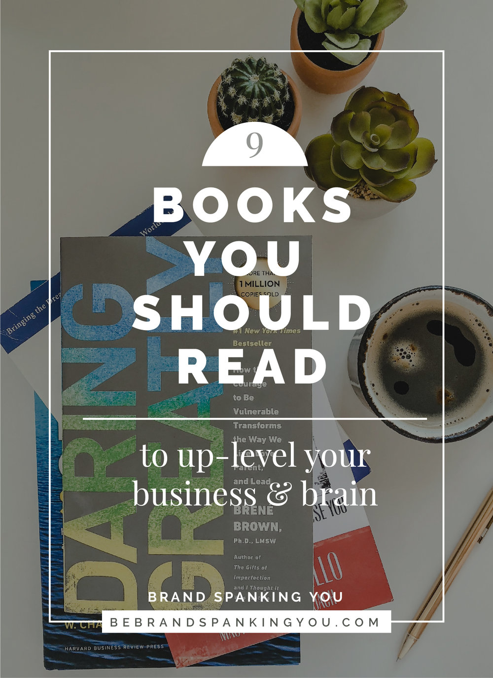 I'm a self-proclaimed book nerd, and I especially nerd out over business, self-help and personal growth books. I feel like book recommendations are the things those in my inner circle come to me for over and over again, so I thought I'd round up a few of my favorites for creative entrepreneurs here.