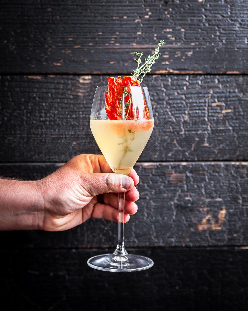Cocktails at Los Balcones, Studio city