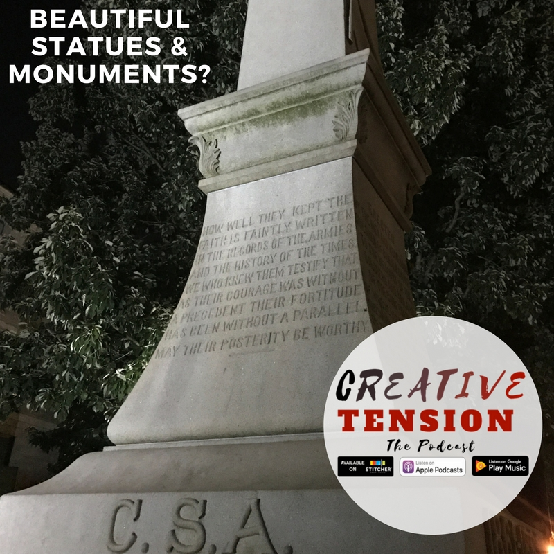 "Are Confederate Monuments and Statues Beautiful or Sites of Terror? The Charlottesville tragedy has forced America to re-examine their place in modern culture. Elliott Robinson explores the reasons for the Civil War and whether these monuments and statues can be separated from their ""lost cause."" -"