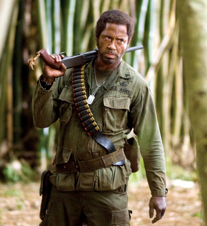 Robert Downey, Jr. in Tropic Thunder