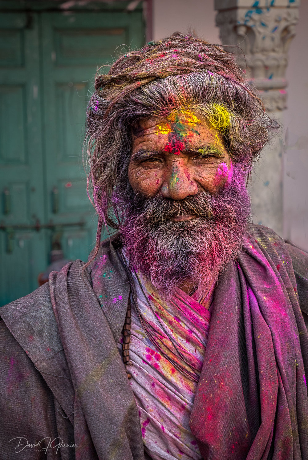 The Holi Colors