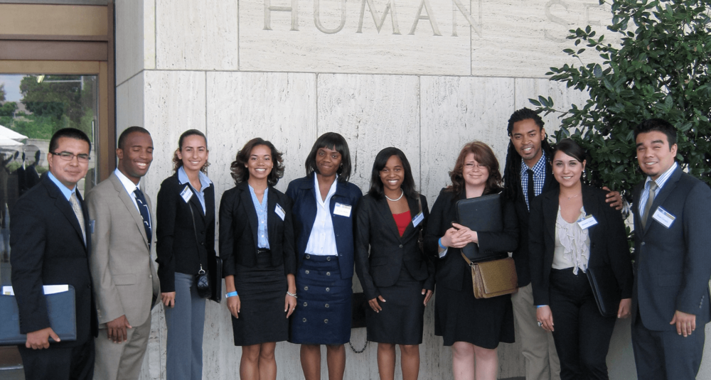 Class of 2011 after visit at US Department of Health and Human Services