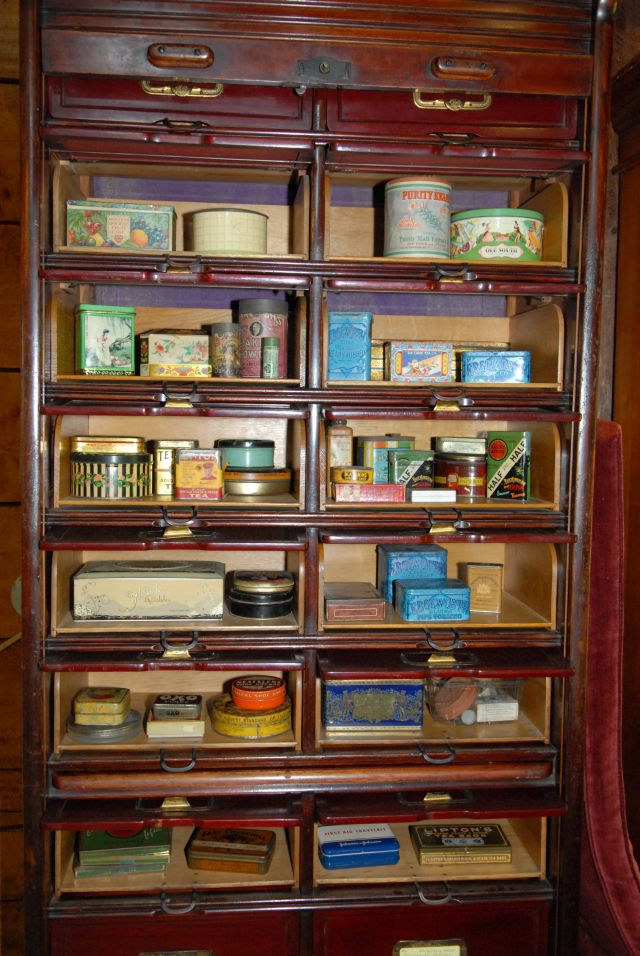 Advertising Tins and Boxes