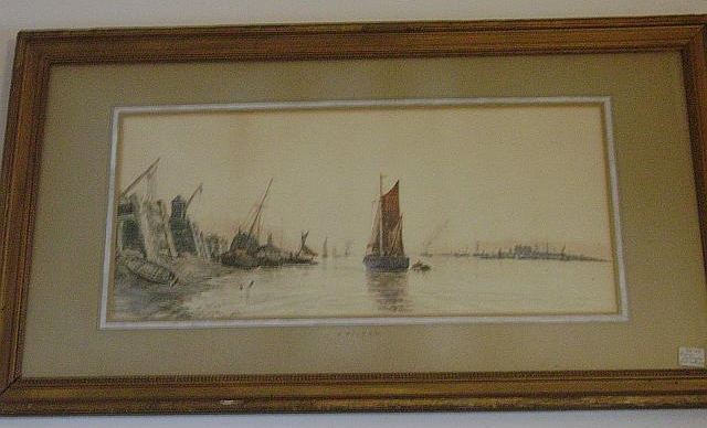 Dutch Watercolor by J. Wilton