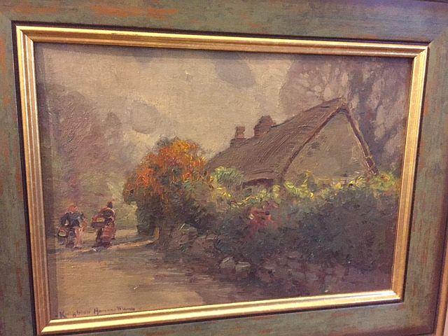 Impressionist Painting by Arthur Henry Knighton Hammond