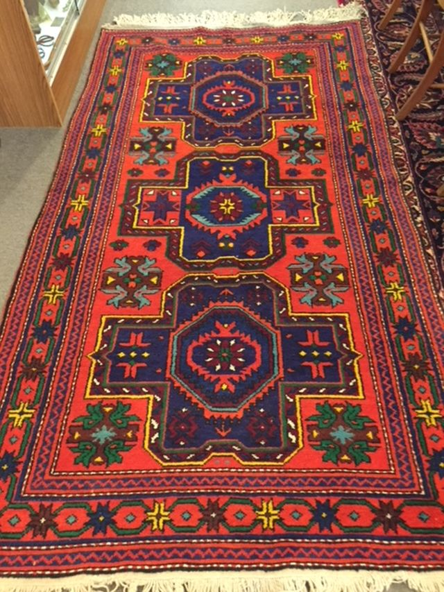 "Persian Tribal, 52"" x 92"", $685"