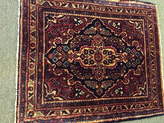 """Persian Sarouk, 26"""" x 30"""", $370"""