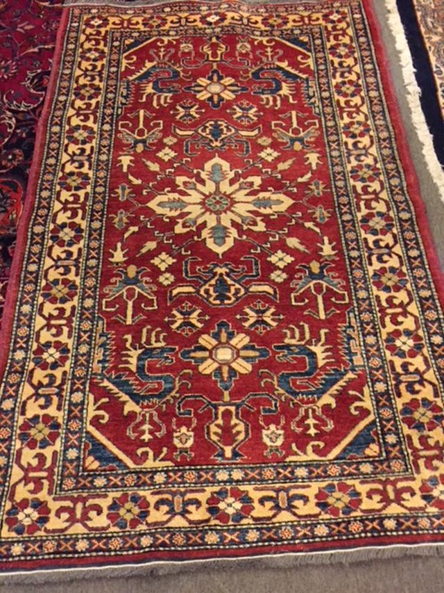 Turkish Kazak, 44 x 70, $500