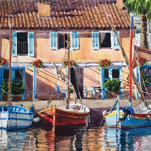 Sanary boats