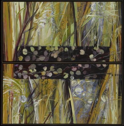 Pollen Count, Acrylic on Canvas 48 x 48