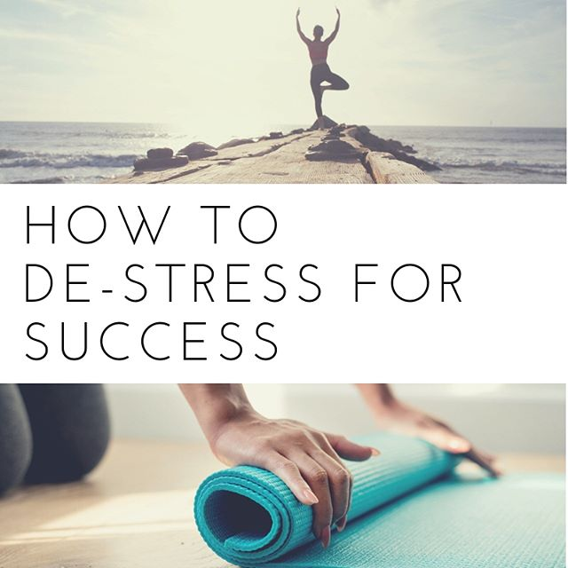 Swipe to learn how to de-stress for success with wellness tips from Yogi @konakafe. From crushing that work presentation to finding more balance in the workplace, check out Ko Im's secrets to success on our blog. Link in bio for full article.
