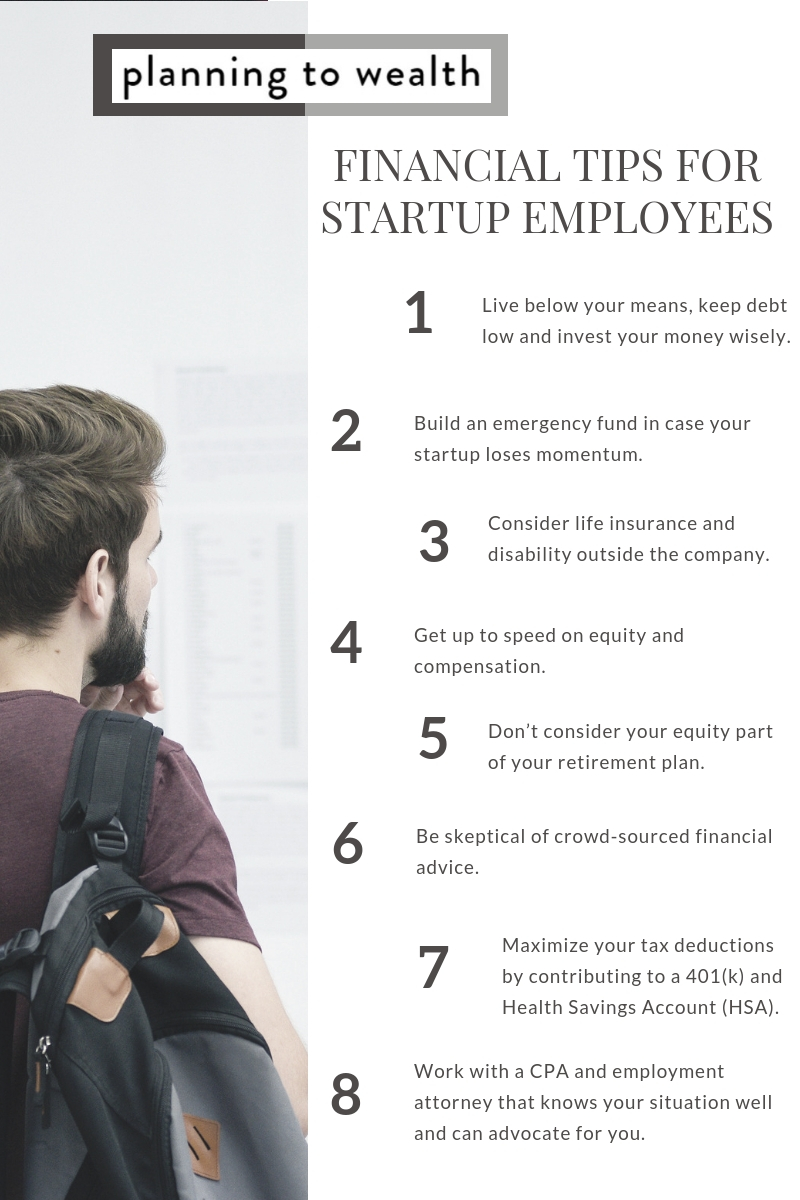 Startup employee wealth management tips