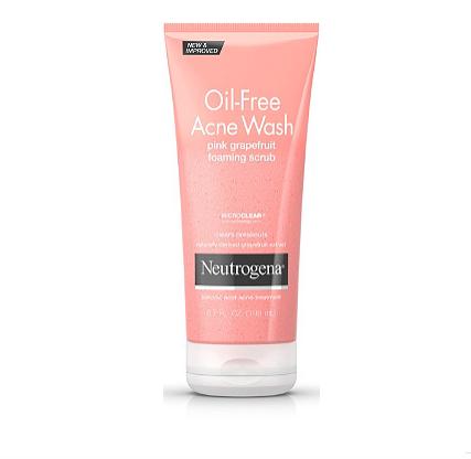 Neutrogena Acne Face Wash $10