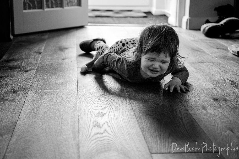 Hazel tantrums
