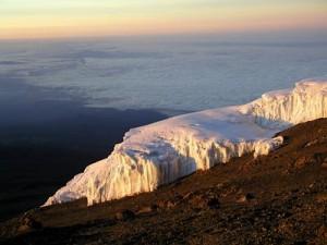 Kilimanjaro Glacier at the Summit