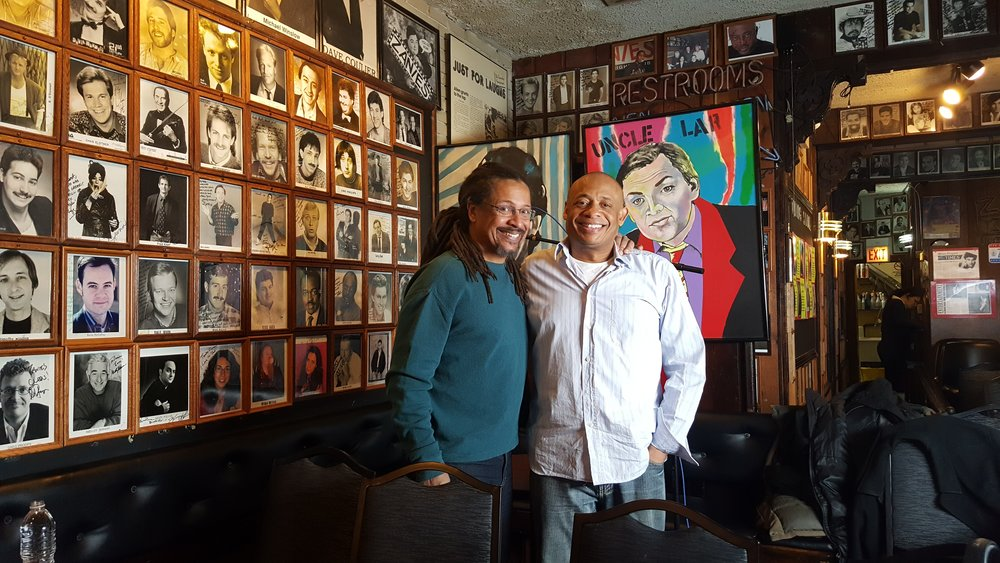 Michael and Dwayne Kennedy Writer for Totally Biased, The Arsenio Hall show, United Shades of America.jpg