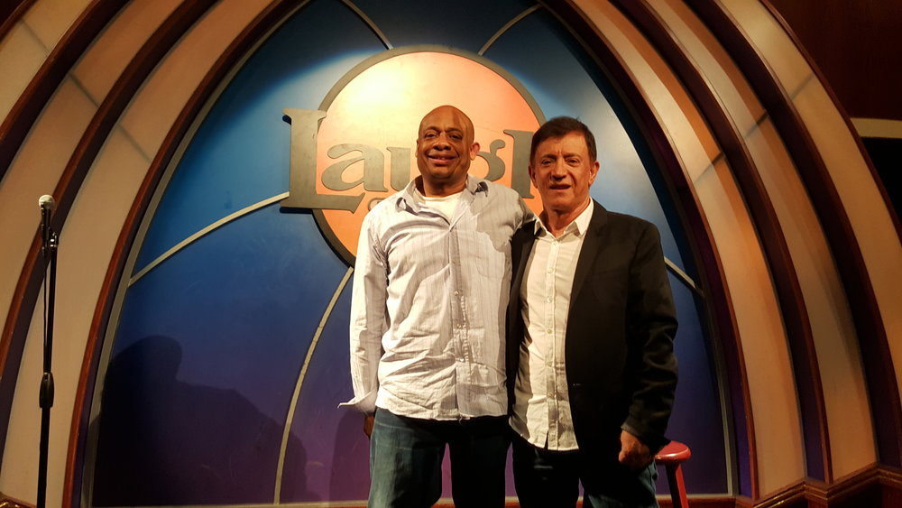 Michael and Jamie Masada founder of The Laugh Factory.jpg