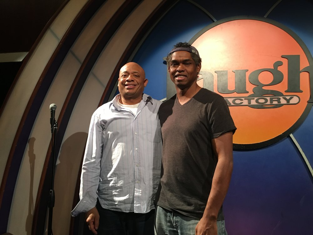 Michael and Lance Crouther Pootie Tang, head writer for Lopez Tonight, Def Comedy Jam 25.JPG