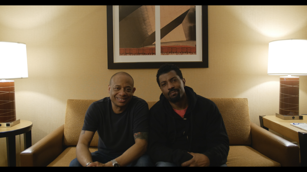 Michael Alexander with Deon Cole