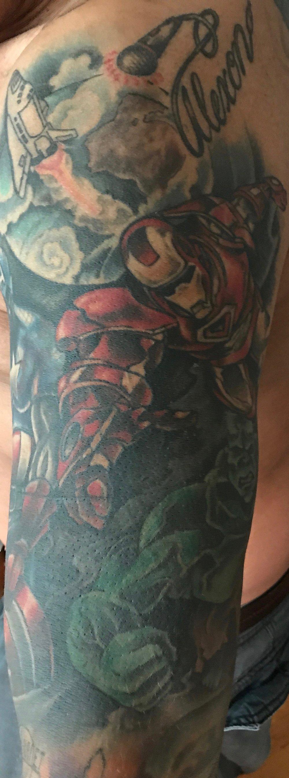 Micahel's upper left arm.jpg