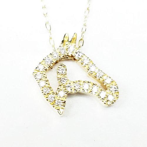 Diamond horse head van dell jewelers diamond horse head aloadofball Choice Image