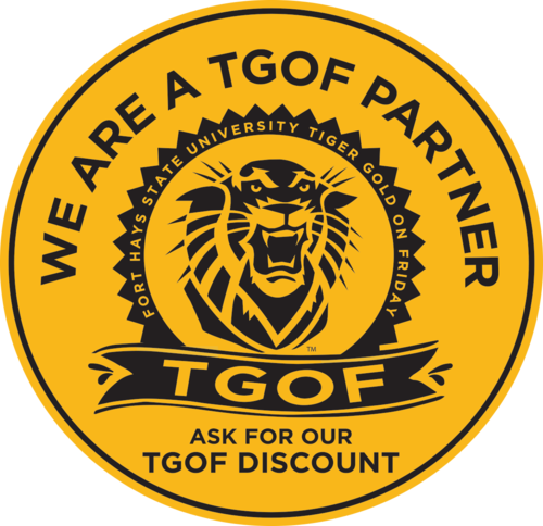 Tiger Gold on Friday - We are a TGOF Partner. Go Tigers!