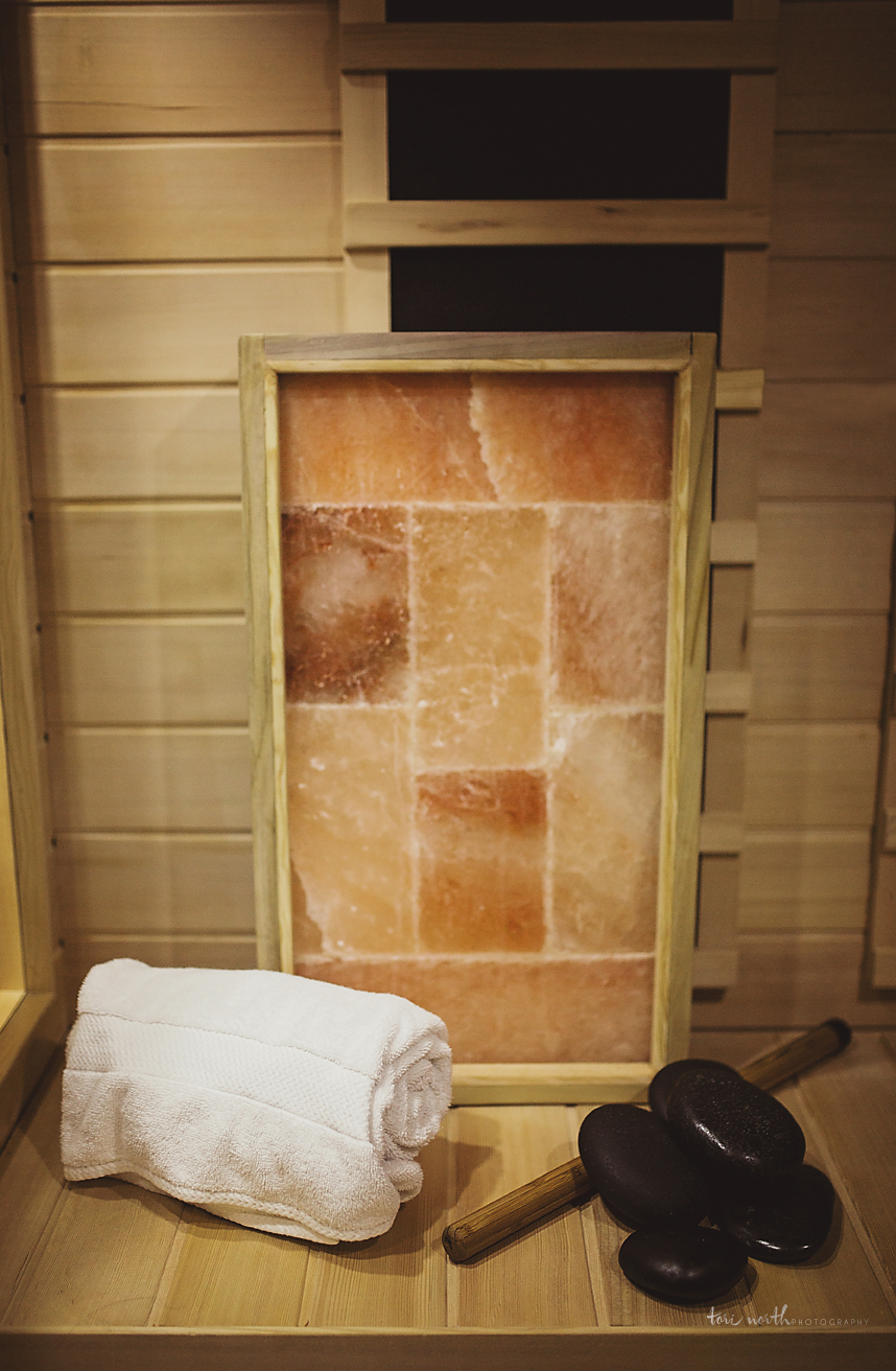 Infrared Salt Sauna Therapy - 30 min, $20Have you ever noticed when you spend time at the beach that you feel more relaxed after awhile? Or that you breathe more deeply? Or that the air seems cleaner? This is not just because you are on vacation; it is because of the salt in the air. Salt in the ocean releases negative ions into the air, which are known to reduce pollutants and to promote a calmer, happier disposition in the people who breathe it. A salt cave works much the same way, only more intensely. In fact, sitting for an hour in a room with walls and floors made of salt can be equivalent to 2-3 days at the beach. For many years, people have reaped the benefits of salt caves as therapeutic treatment, especially for people with breathing issues. Now, at H2O, you can experience that treatment first hand.Salt Sauna Therapy Monthly PackageUnlimited 30 minute sessions,  $250If you LOVE your sauna, why not purchase a monthly membership? The salt sauna is great if you have respiratory tissues or Kansas skin issues such as Eczema and Psoriasis.  Bonus benefit---the 40 pound salt block lights up in the different colors correlating with your Chakra colors.