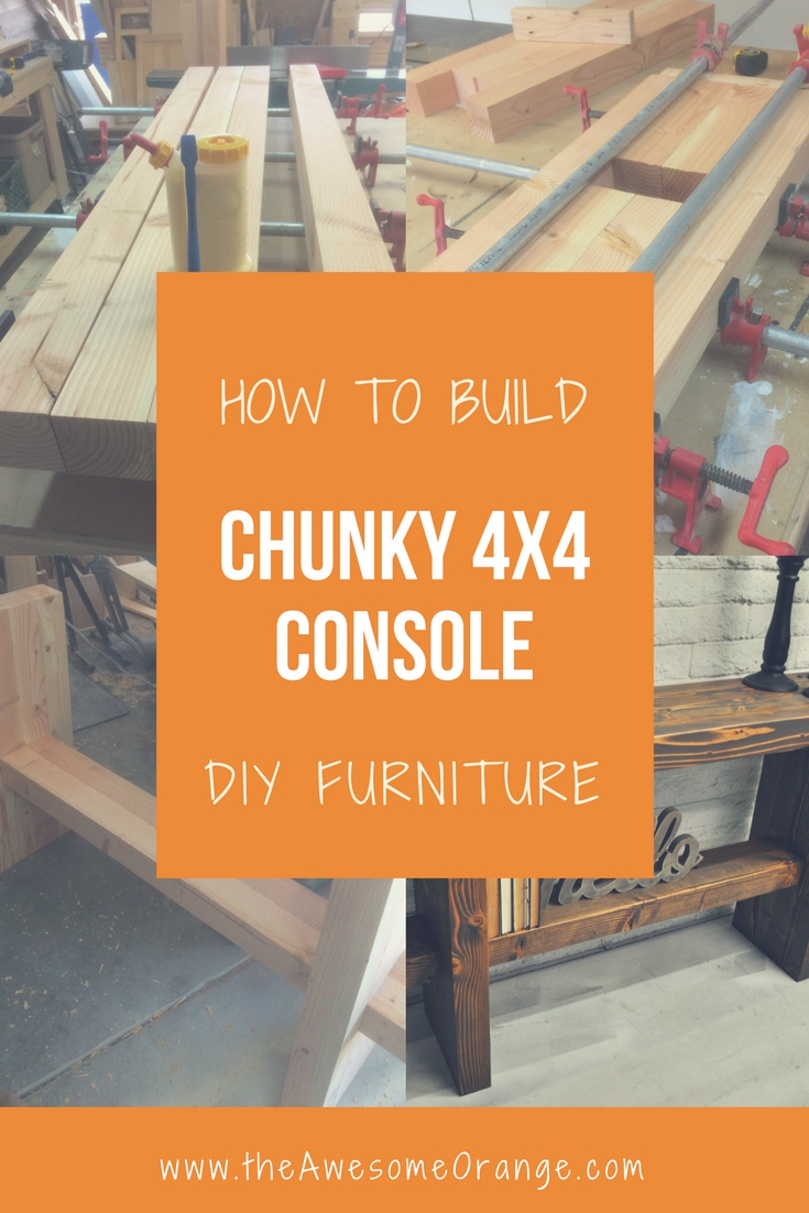 Chunky 4x4 Console The Awesome Orange