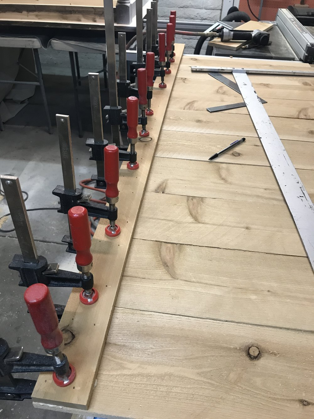 Rocking the Bessey clamps!