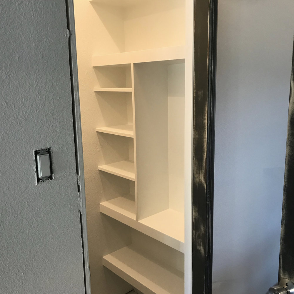 Pantry After - Small and Mighty!