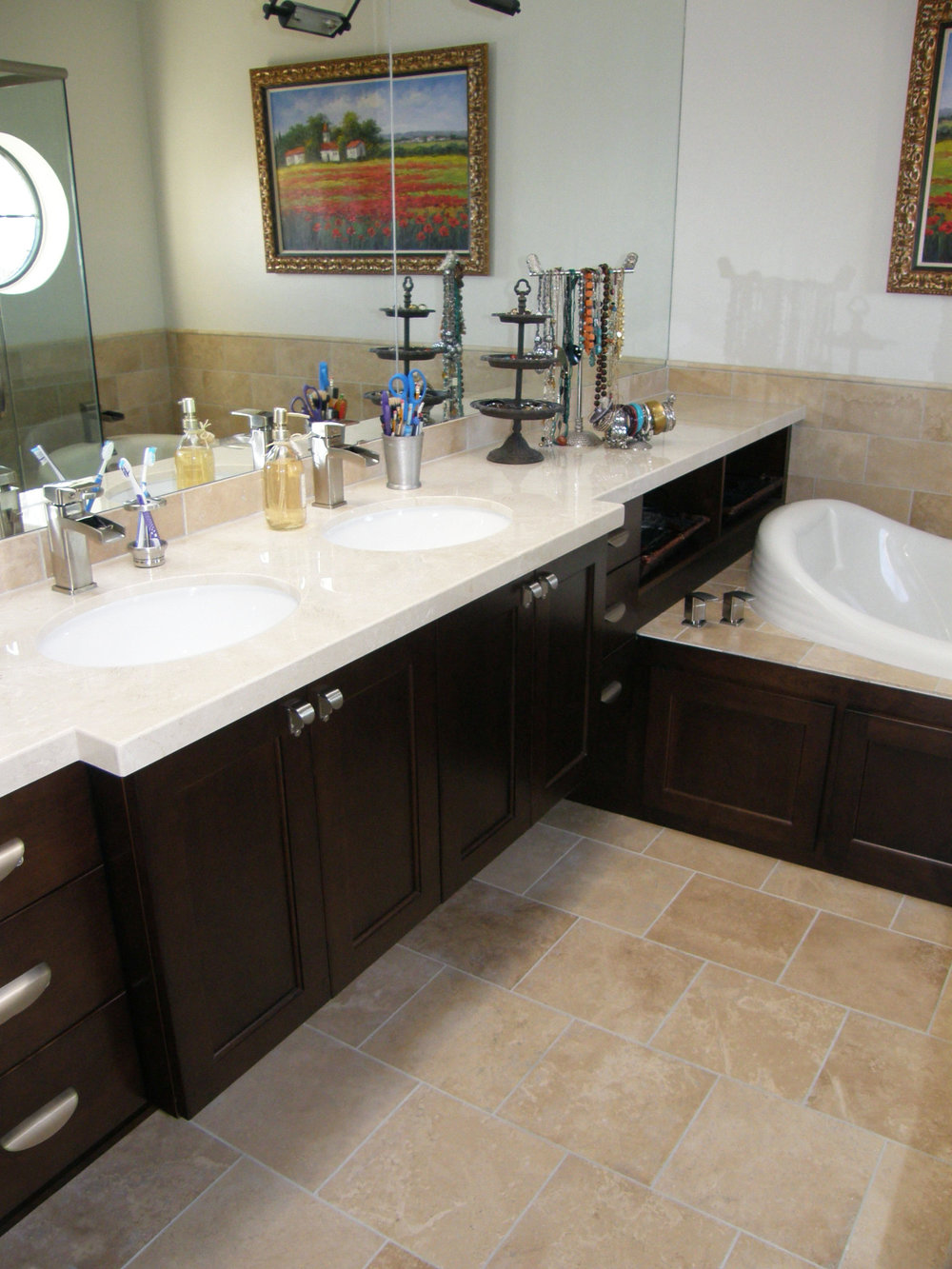 Bathroom Vanities Lewis Custom Woodwork LLC Utah Custom Cabinets - Bathroom vanities utah