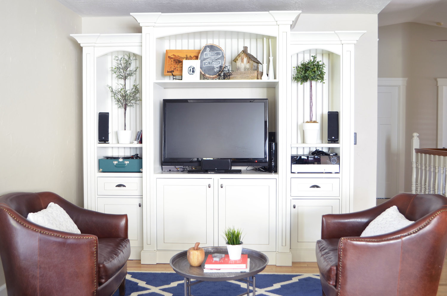 Entertainment Centers — Lewis Custom Woodwork LLC | Utah Custom Cabinets