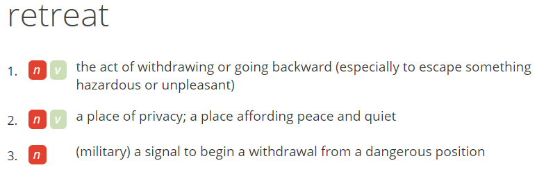definition of retreat by vocabulary.com.png