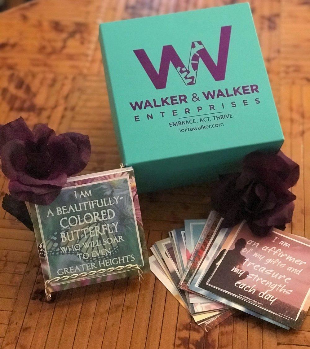 Affirmation Attache Set by Walker & Walker Enterprises at lolitawalker.com