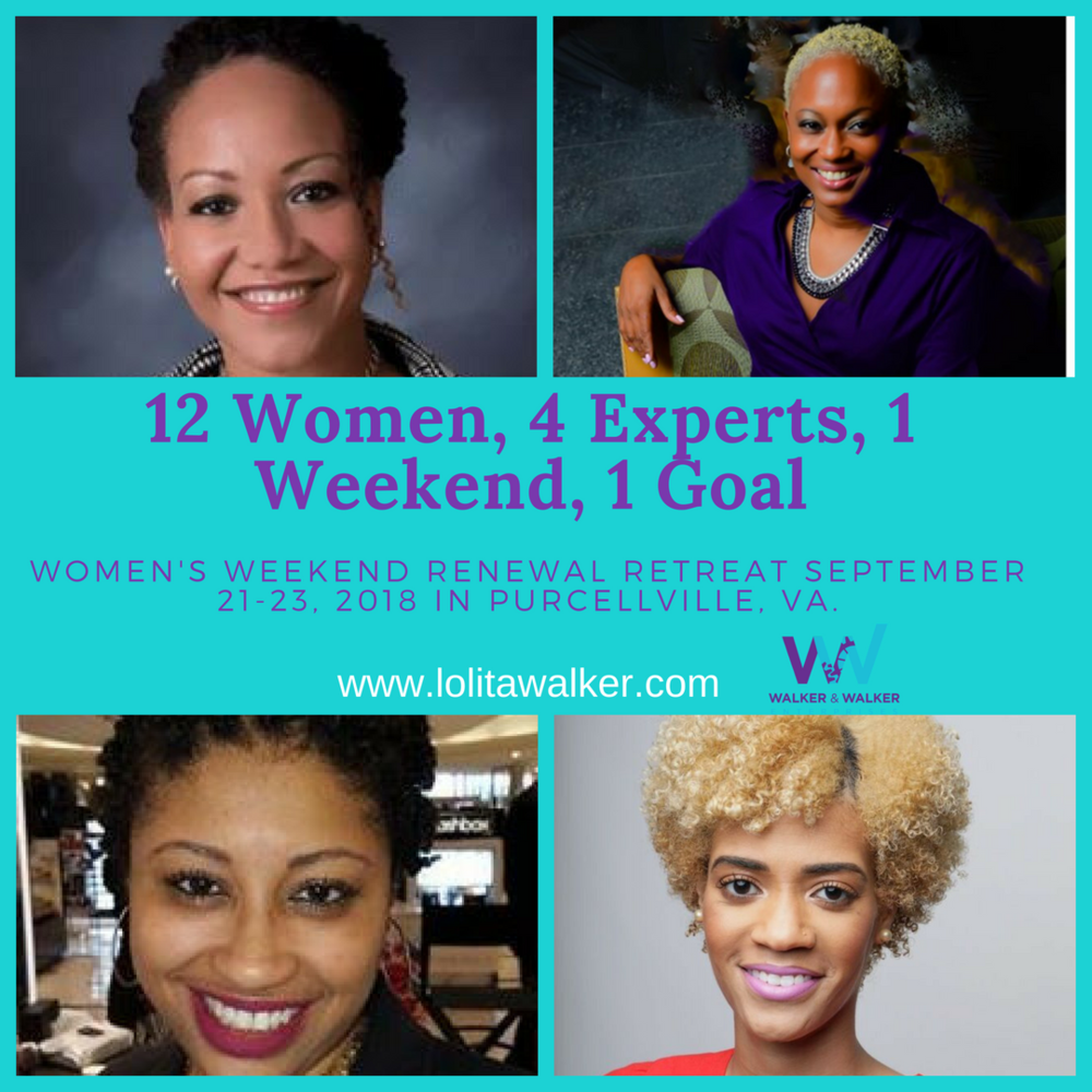 WALKER & WALKER ENTERPRISES RENEWAL RETREAT EXPERTS - SEPTEMBER 2018