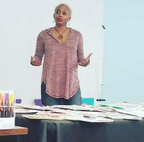 Lolita E. Walker of Walker & Walker Enterprises at Visioning & Beyond Event