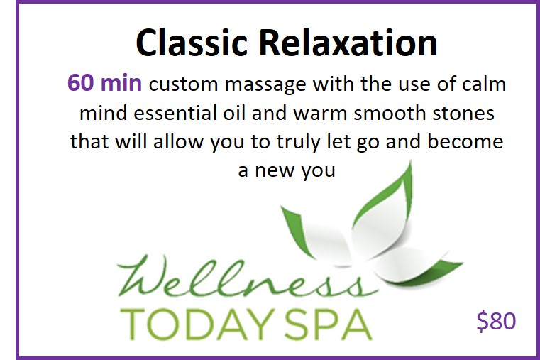 60 Min Spa Package for Thursday - Womens Weekend Renewal REtreat