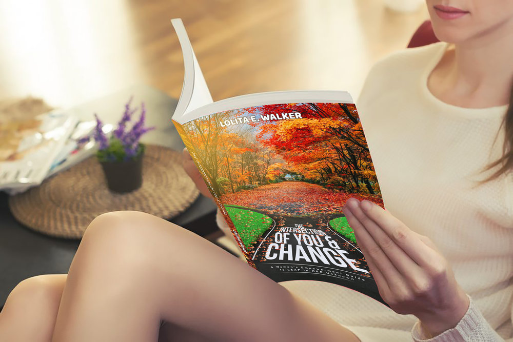 The Intersection of You & Change by Lolita E. Walker - lady reading view.jpg