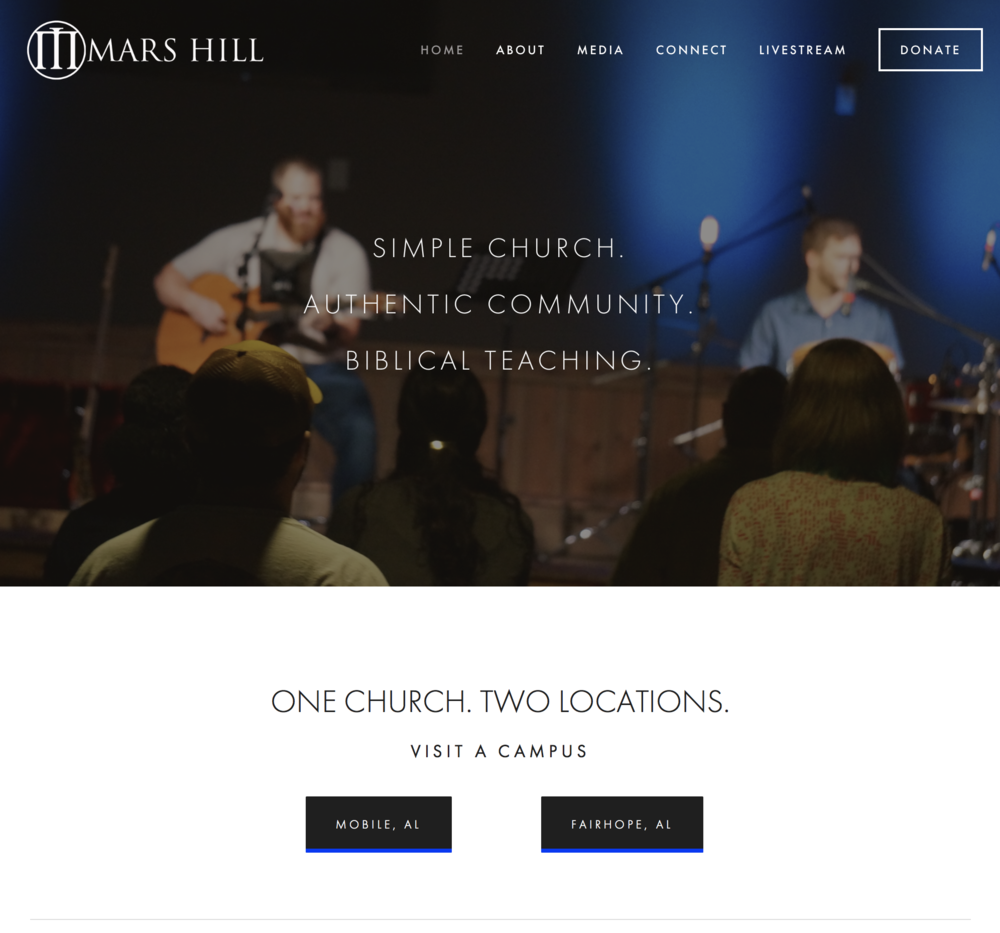 Mars Hill Church / Alabama Gulf Coast