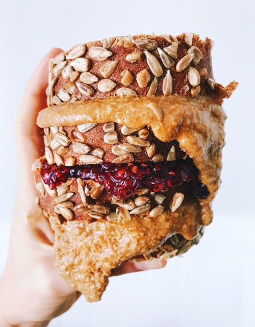 A creative spin on the PB&J