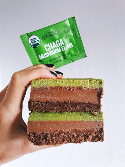 Raw Matcha Cacao Bars